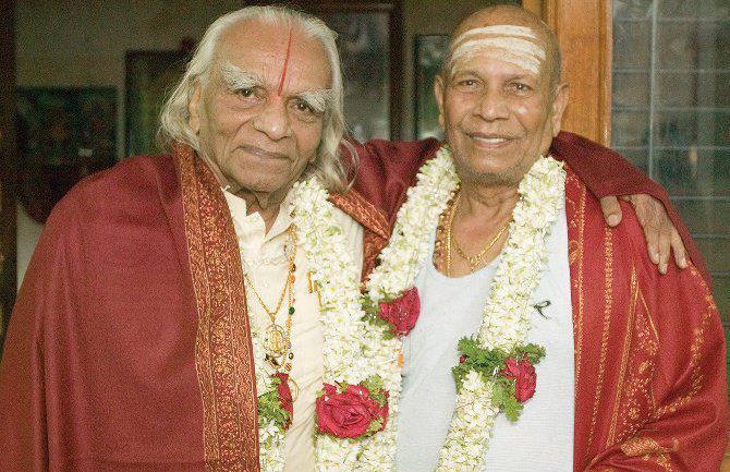 Iyengar et Pattabhi Jois